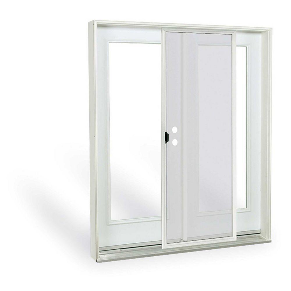 JELD-WEN Windows & Doors 5 ft. French Door, 1 Lite door glass, Low E argon, LH, inswing  4 9/16 East