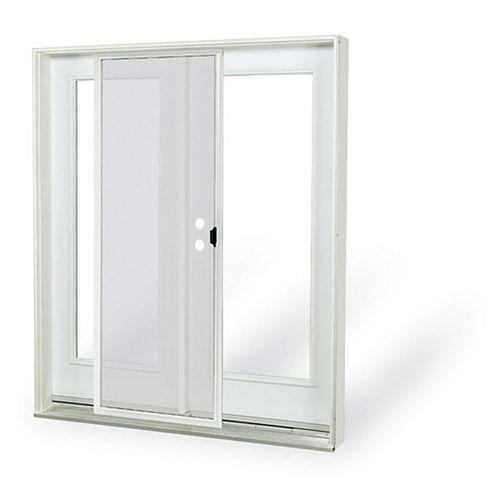 6 ft. 1 Lite Low-E Argon-Filled Glass Right-Hand Inswing French-Door Patio Door 4 9/16 East