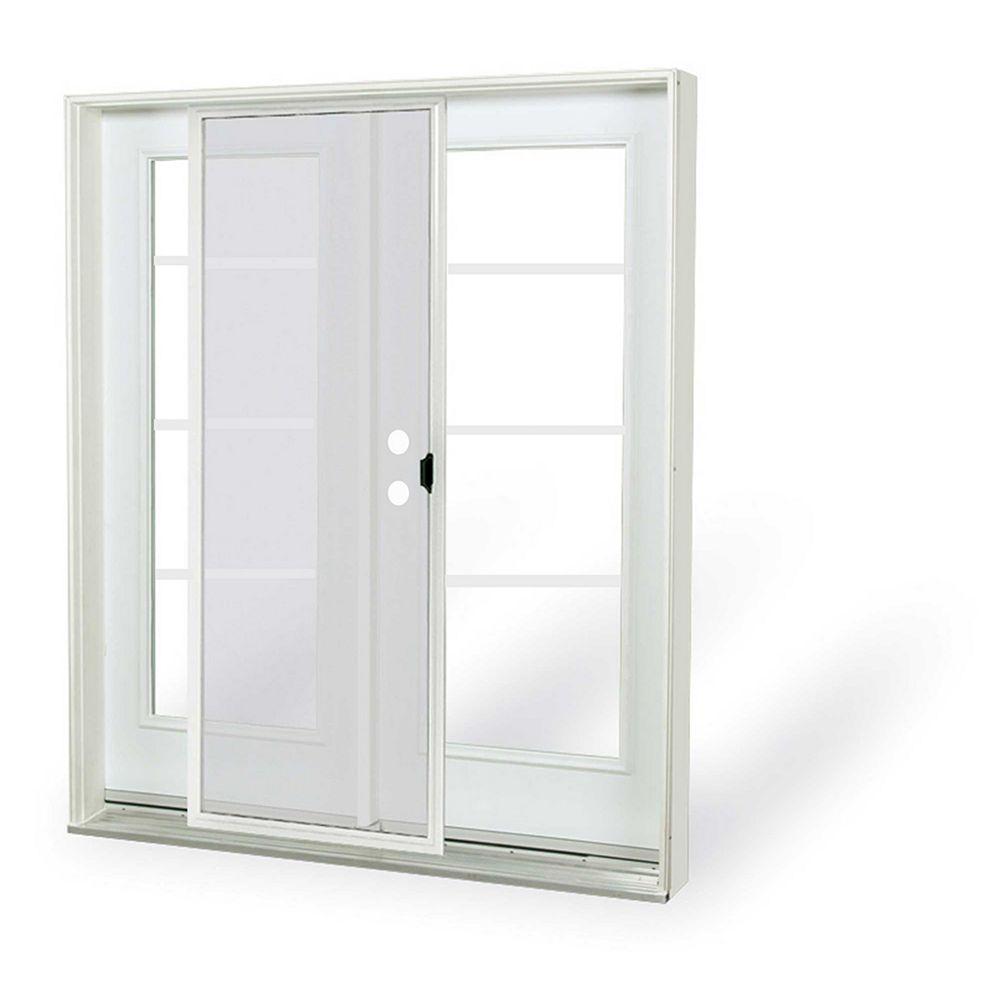 JELD-WEN Windows & Doors 6 ft. French Door,4 Lite door glass, Low E argon, RH, inswing 4 9/16 East