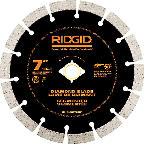 7 inch Segmented Diamond Blade