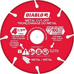 4 1/2 pouces diamant rimmed coupé grinder roue / disque pour la coupe de métal
