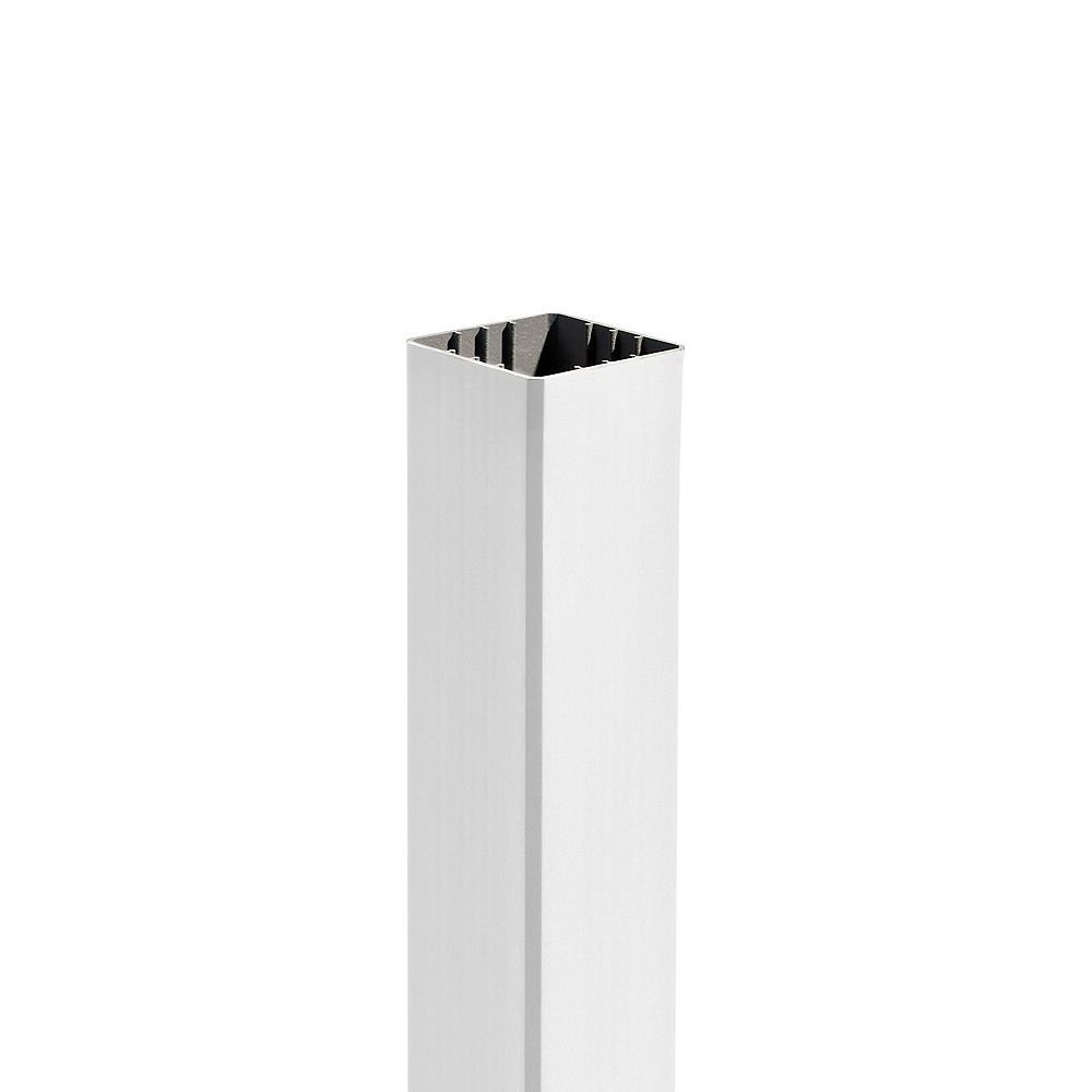 Trex 108 inch - Transcend 4 inch x 4 inch Post Sleeve - White