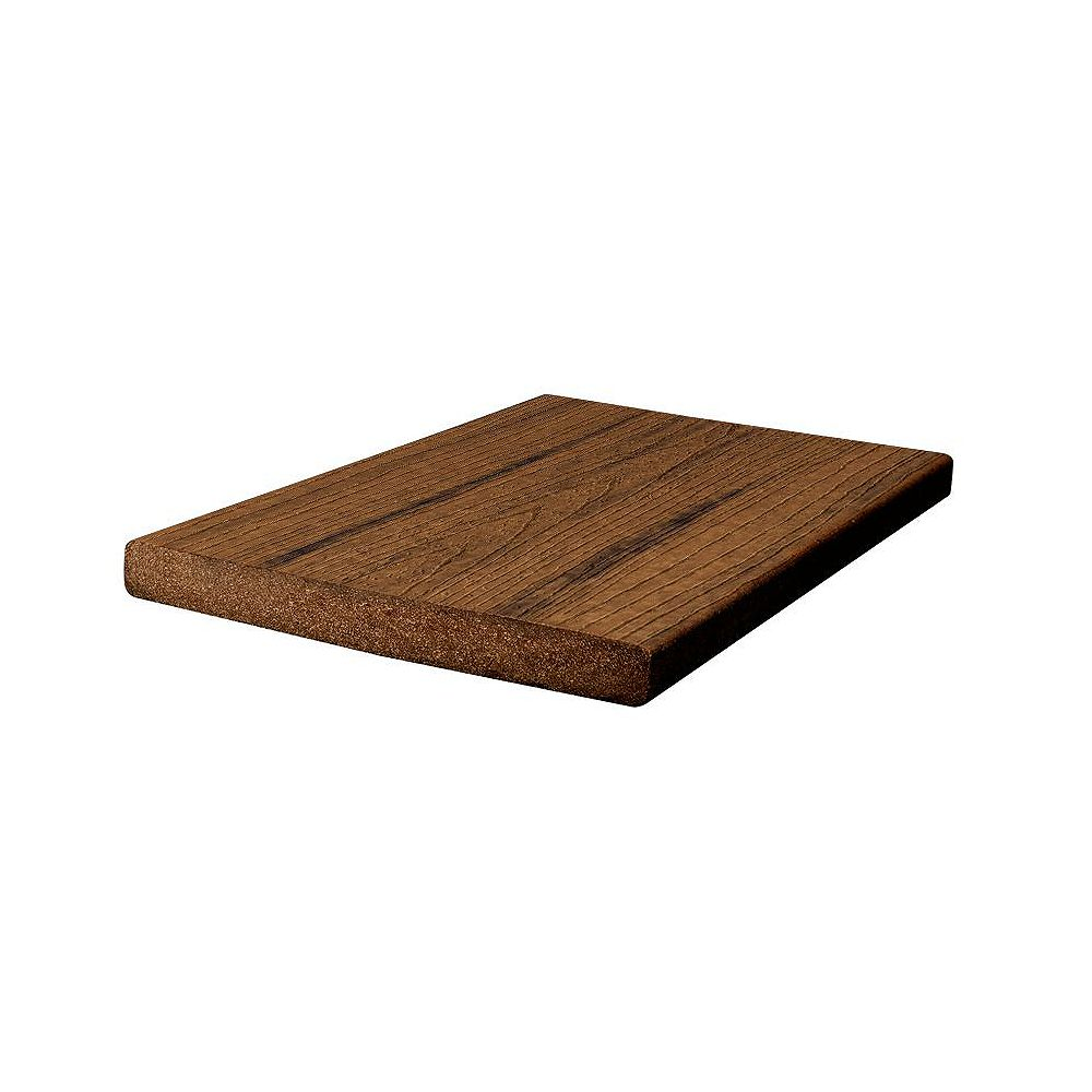 Trex 12 ft. -  Transcend Tropical Composite Capped Fascia Spiced Rum - 1 inch x 8 inch