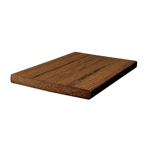 12 ft. -  Transcend Tropical Composite Capped Fascia Spiced Rum - 1 inch x 8 inch
