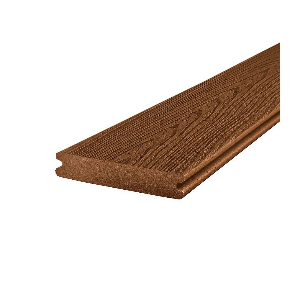 Trex 12 ft. - Transcend Composite Capped Grooved Decking - Tree House