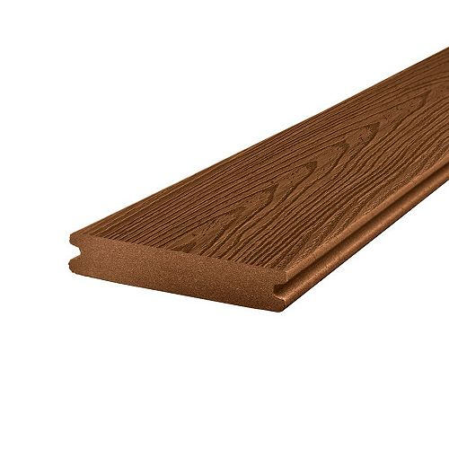 12 ft. - Transcend Composite Capped Grooved Decking - Tree House