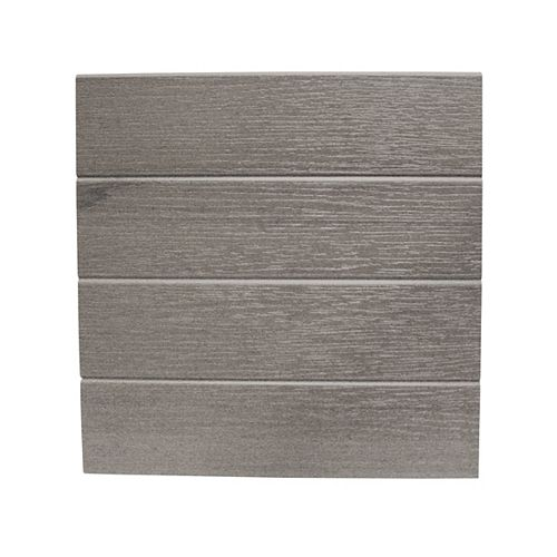 12 inch x 12 Ft. - Fascia Cladding - Grey (requires hangers)
