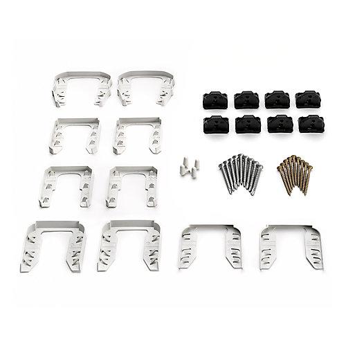 Stair Railing Cut Kit - White