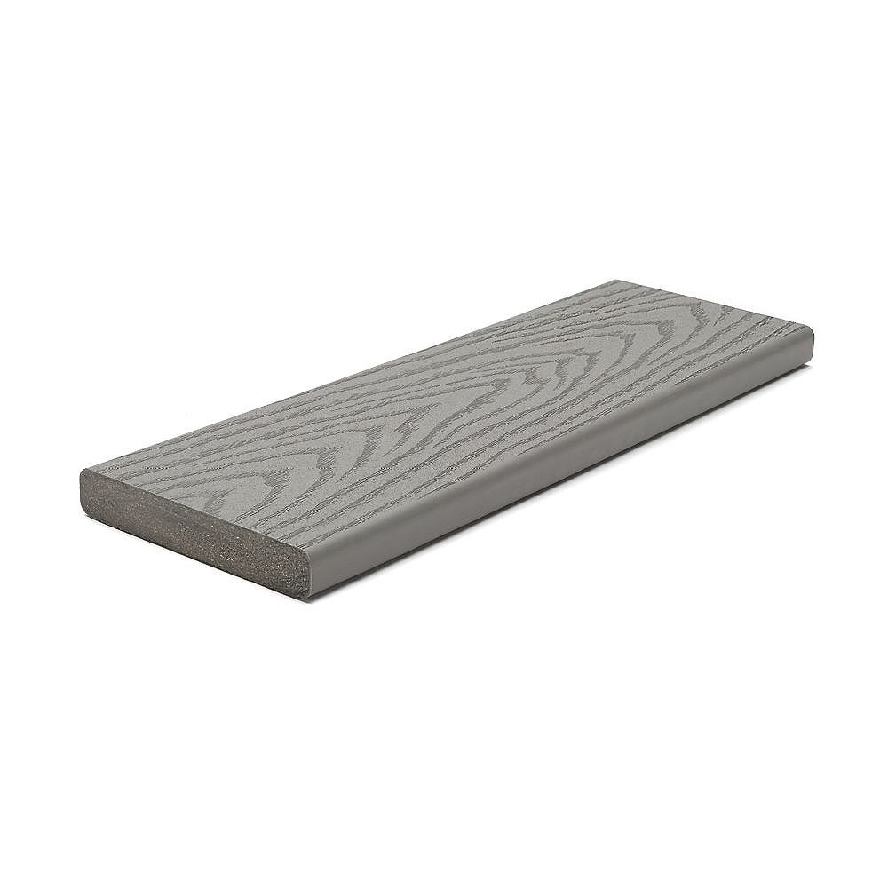 Trex 12 Ft. - Select Composite Capped Square Decking - Pebble Grey