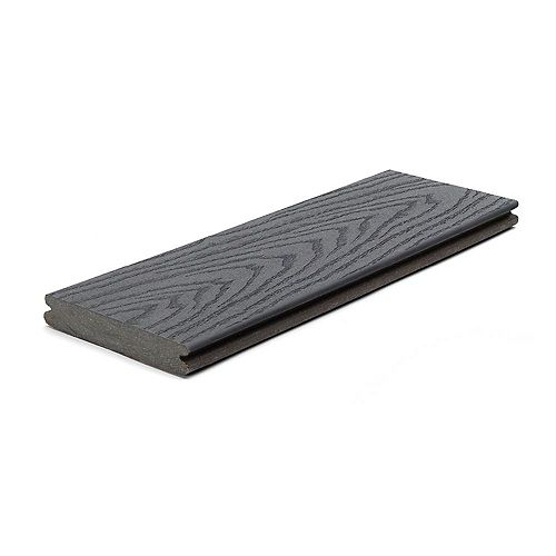16 Ft. - Select Composite Capped Grooved Decking - Winchester Grey