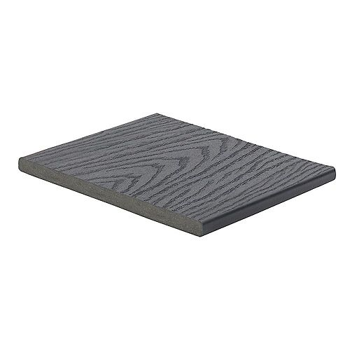 12 Ft. - Select Composite Capped Fascia Winchester Grey - 1  inch x 12  inch