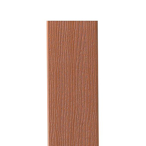 12 Ft. - HP Composite Capped Fascia Redwood - 11 1/4 In. x 1/2 In.