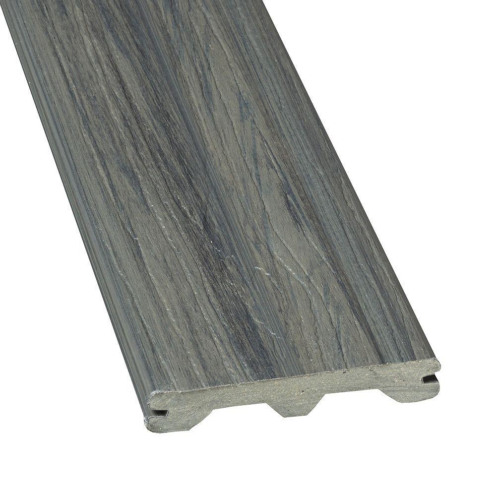 Veranda 16 Ft. - Elite Capped Grooved Composite Decking - Panama Grey