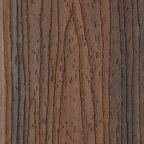 16 ft. - Transcend Tropical Composite Capped Square Decking - 2 inch x 6 inch - Spiced Rum