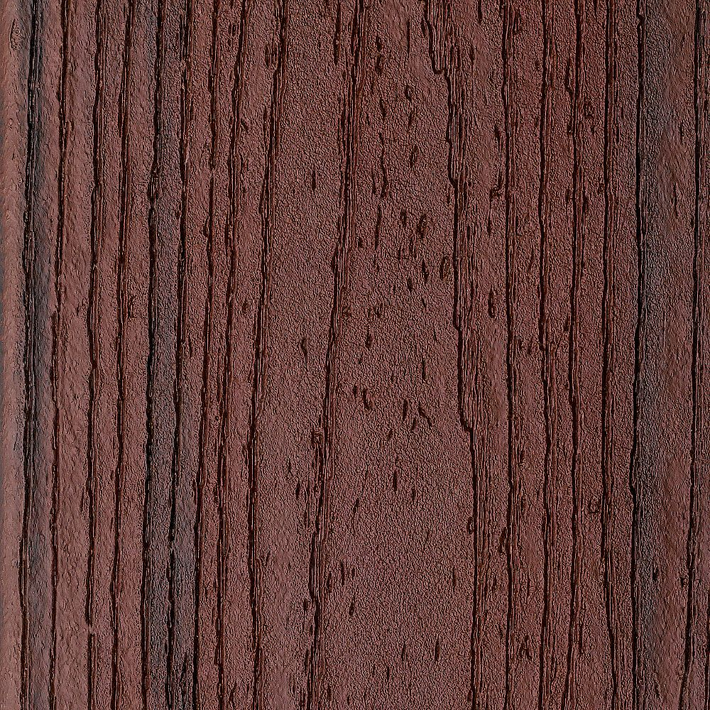 Trex 16 ft. - Transcend Tropical Composite Capped Square Decking - 2 inch x 6 inch - Lava Rock