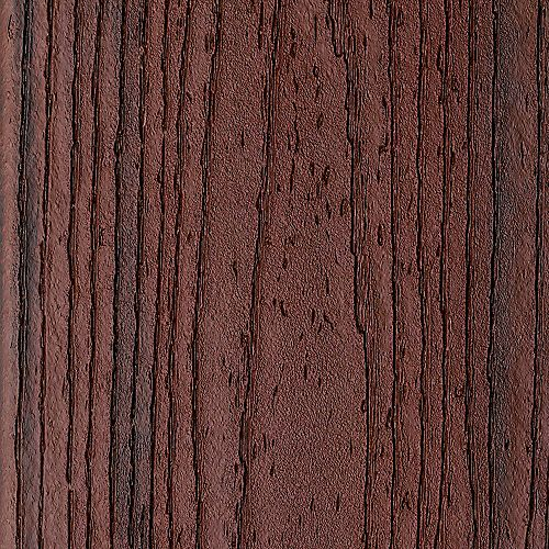 16 ft. - Transcend Tropical Composite Capped Square Decking - 2 inch x 6 inch - Lava Rock