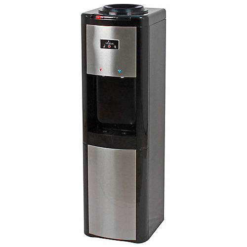 Top Load Water Dispenser (H/R/C) Black & Stainless - ENERGY STAR®