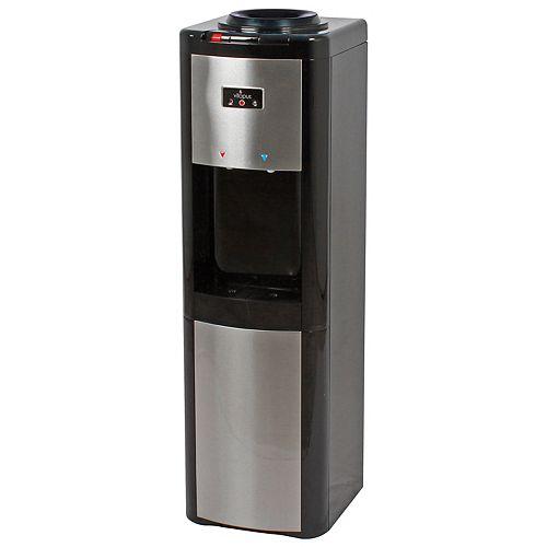 Refroidisseur d'eau (c/t/f) à chargement par le haut, noir et acier inoxydable - ENERGY STAR®