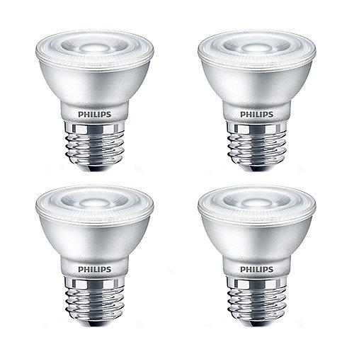 50W Equivalent Soft White Glass PAR16 LED Light Bulb (4-Pack)