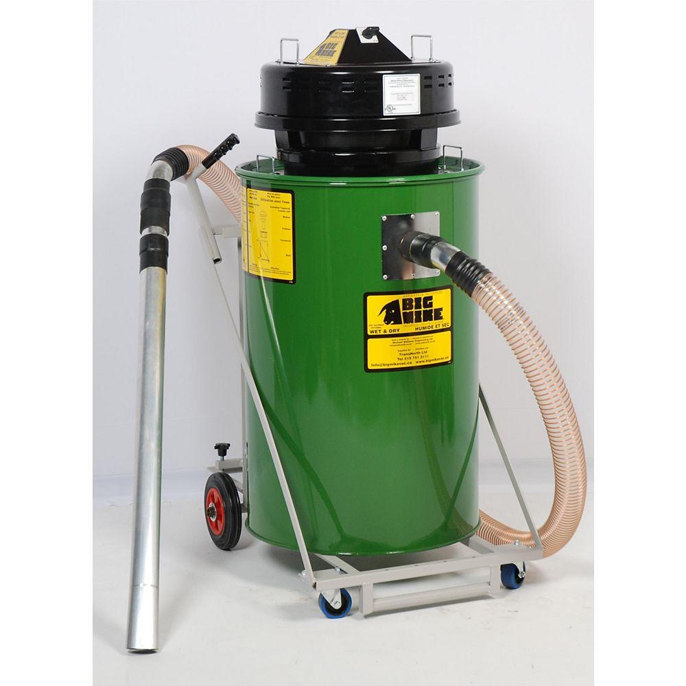 BIG MIKE Aspirateur industriel 240V à séchage humide