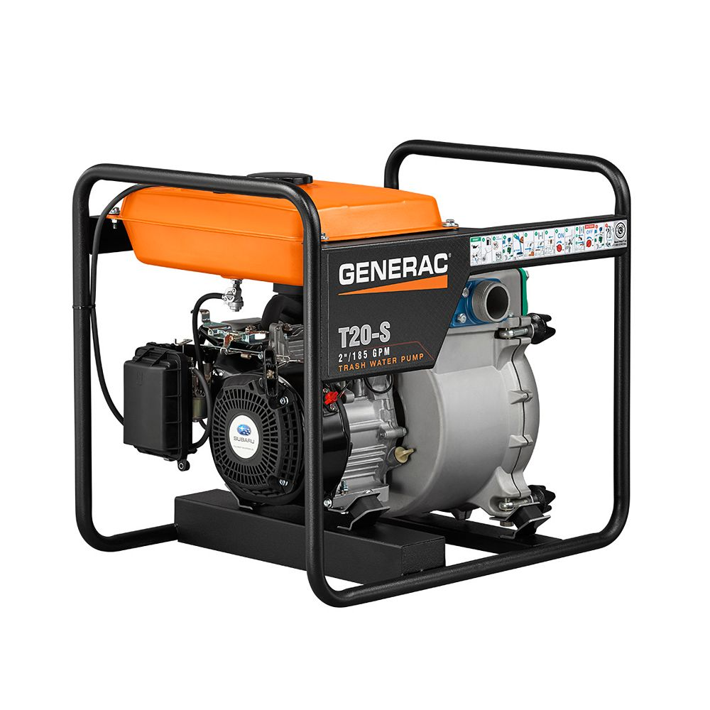 Generac 7HP 2 in. Gas Powered Trash Pump