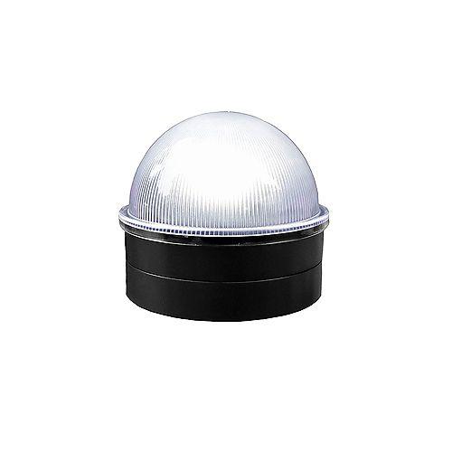Black Chainlink Summit Solar Post Cap LED Post Cap