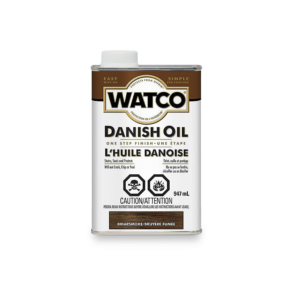 Watco Danish Oil One Step Finish In Briarsmoke, 947 Ml