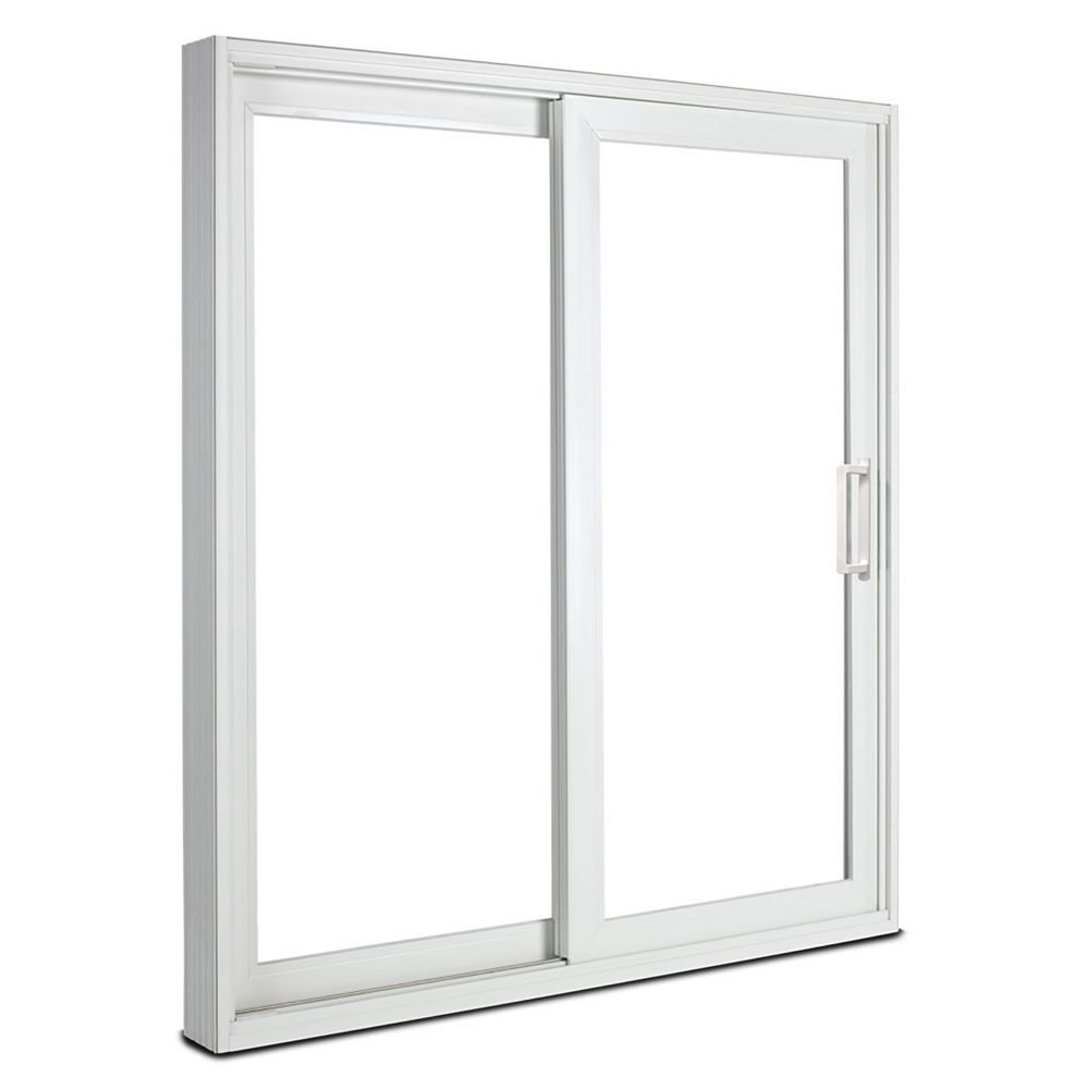 JELD-WEN Premium Tripane, LowE, Energy Efficient, 6 ft. Vinyl Sliding Patio Door LH east