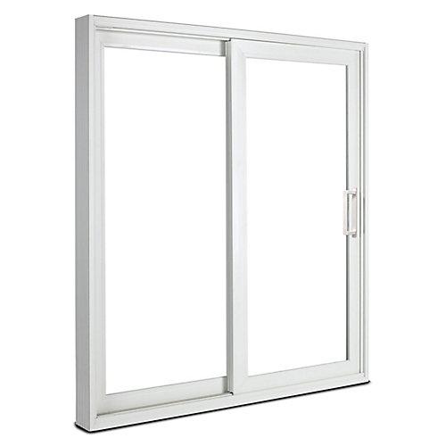 Porte-patio haut de gamme de , 6 pi. en vinyle, verre triple Low-E, ouv. vers la gauche / DF - ENERGY STAR®