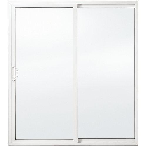 Porte-patio haut de gamme de, 5 pi. en vinyle, verre triple Low-E, ouv. vers la droite / DF - ENERGY STAR®