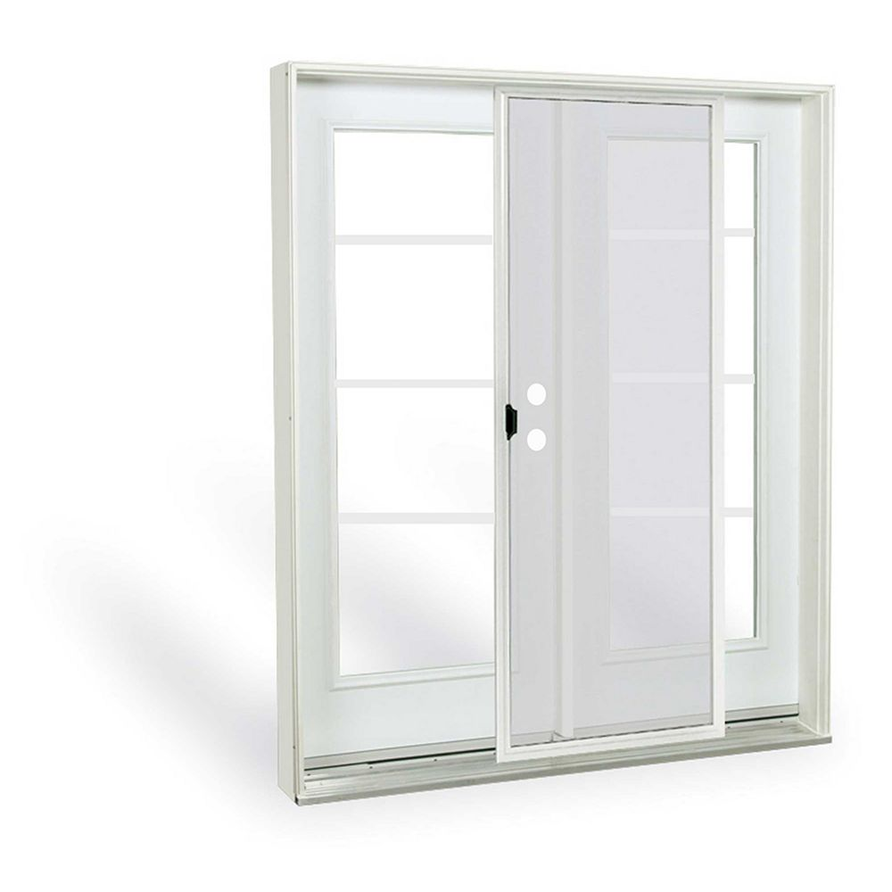 JELD-WEN Windows & Doors 6 ft. French Door, 4 lite door glass, Low E argon, LH, inswing 7 1/4 East - ENERGY STAR®