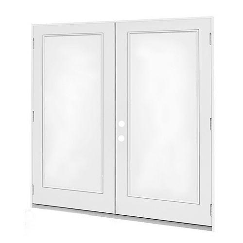 6 ft. French Door, 1 Lite door glass, Low E argon, RH, outswing 4 9/16 East