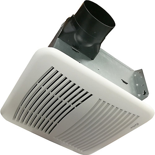 Quiet Series 110 Cfm 0.9 Sones Bath Fan With Humidity Sensor And Timer