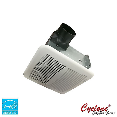 Hushtone Quiet Series 150 CFM Bath Exhaust Fan with Humidity Sensor and Timer
