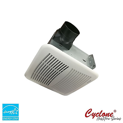 Quiet Series 80 Cfm 0.4 Sones Bath Fan With Humidity Sensor And Timer