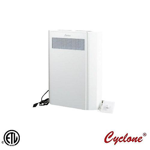 Cyclone centrale de traitement d'air à récupération de chaleur pour pièce unique