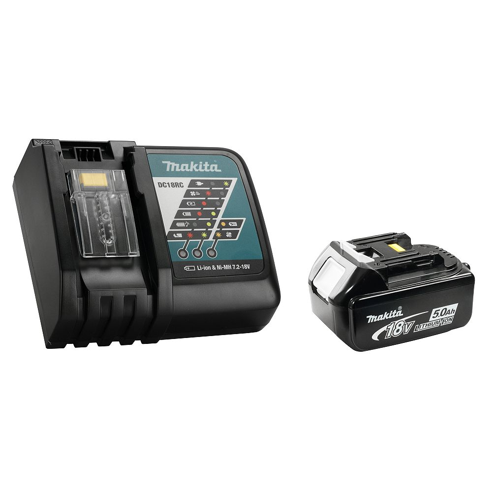 MAKITA CHARGER (DC18RC) + BATTERY (BL1850B) KIT