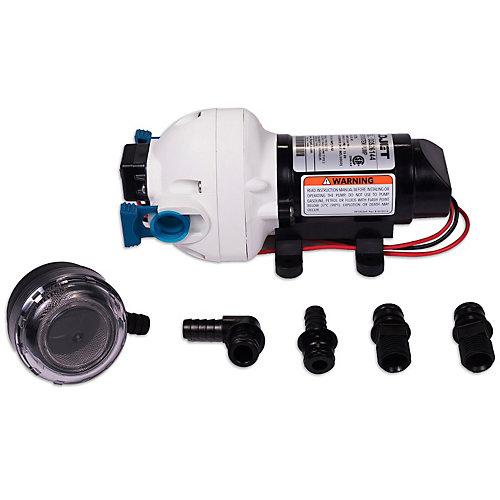 Pompe à eau 12 V 2.9 GPM & Filtre à tamis
