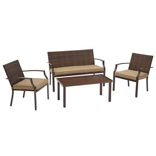 Stone Ridge 4-Piece Patio Seating Set