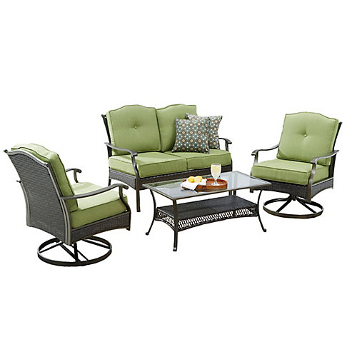 Bellmere 4-Piece Cushioned Patio Seating Set