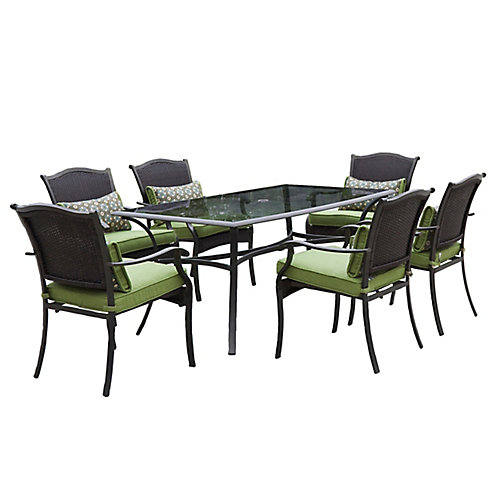 Bellmere 7-Piece Cushioned Patio Dining Set