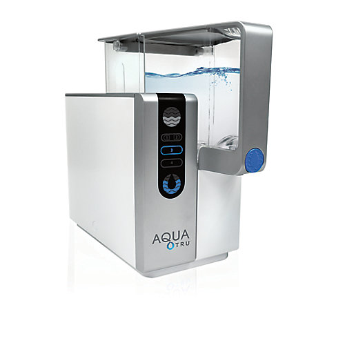 Épurateur d'eau de comptoir avec système d'hyperfiltration à 4 phases