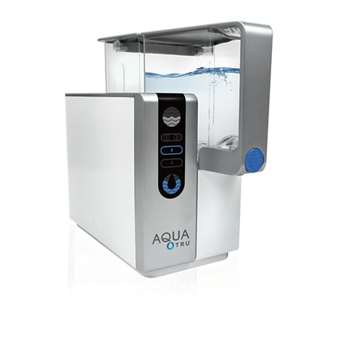 4-Stage Reverse Osmosis Counter-Top Water Purifier