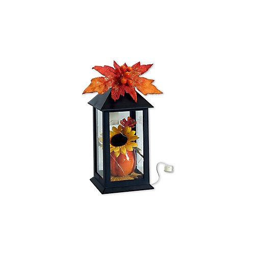 Lanterne 12 pouces avec gilet lumineux ou décoration d'Halloween