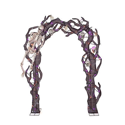 8.5 Pieds Squelette arcade Décoration Loween