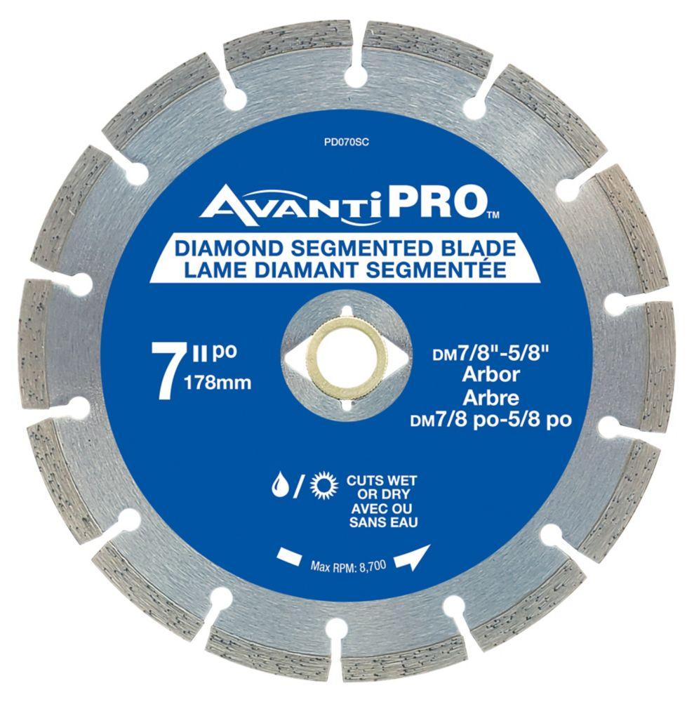 NEW 7 Inch 180mm Diamond Cutting Disc Saw Blade StaySharp Bronze Series Concrete