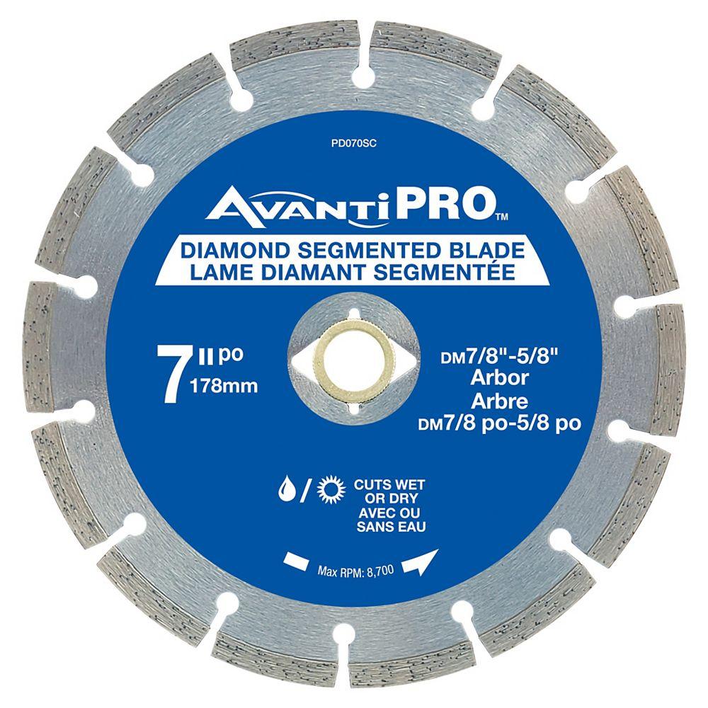 Avanti Pro 7 inch Seg Diamond Blade