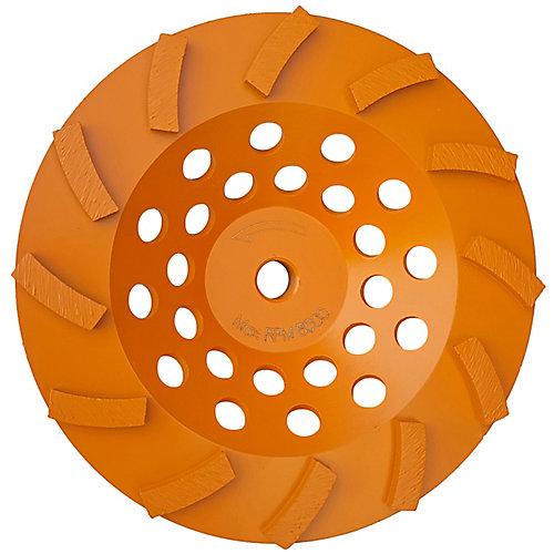 7 inch Turbo 12-Segment Cup Wheel