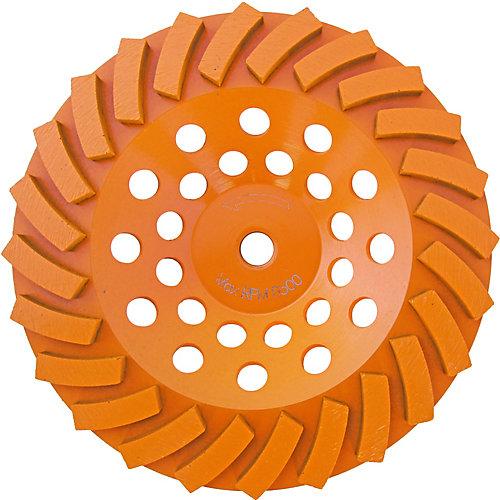 7 inch Turbo 24-Segment Cup Wheel