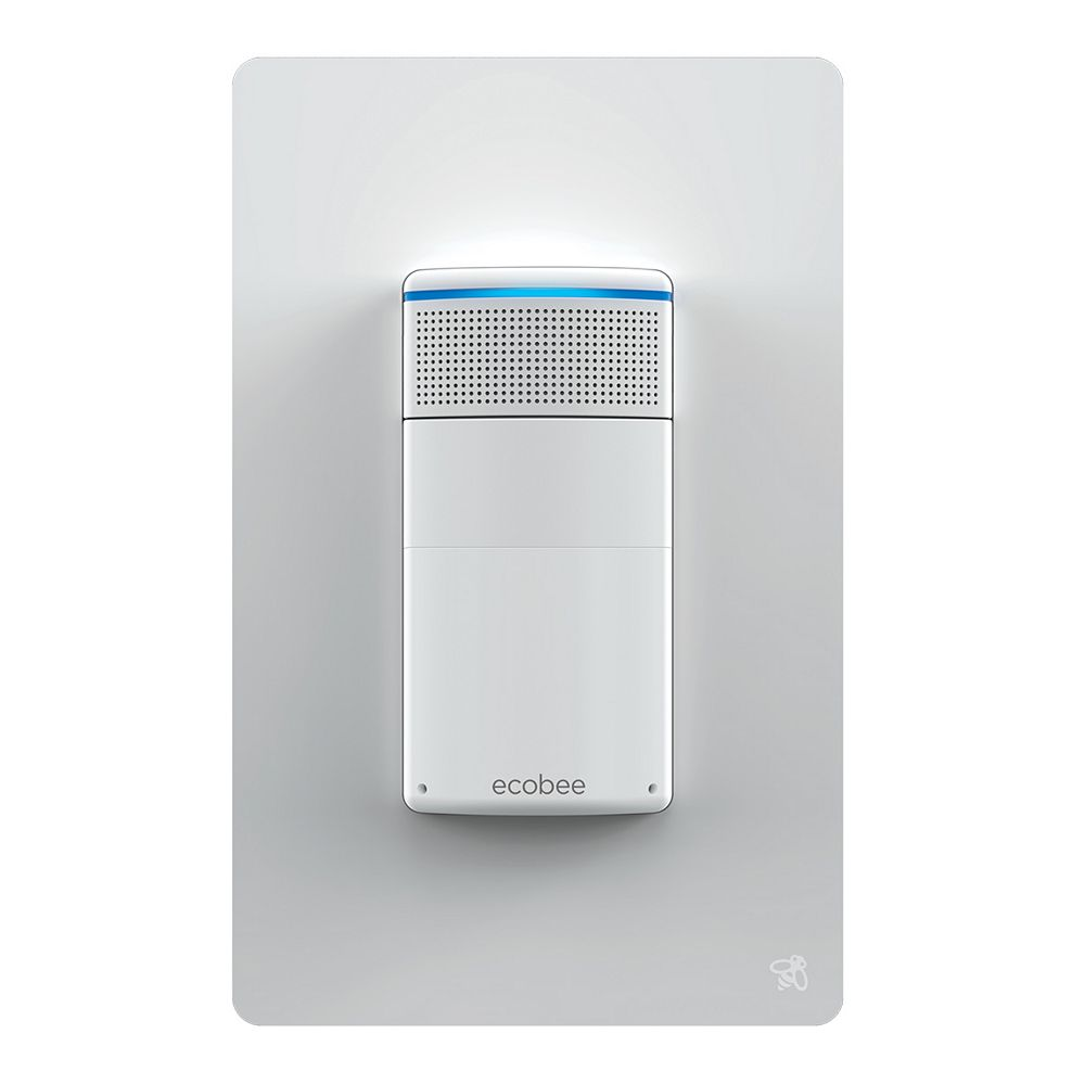 ecobee Interrupteur d'éclairage intelligent Switch+ avec assistant vocal Amazon Alexa intégré